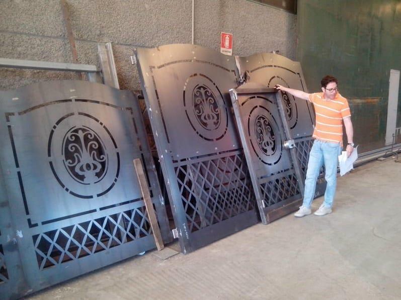 Swing iron gate Iron gate by CITYSì recinzioni
