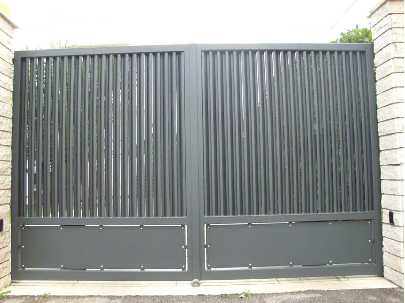 Swing iron gate Iron gate - CITYSì recinzioni e cancelli taglio laser