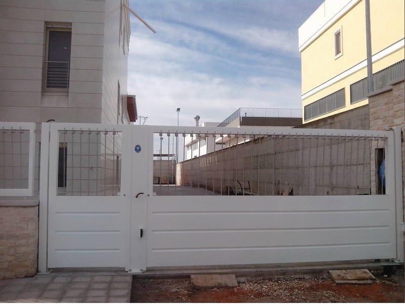 Sliding iron gate Sliding gate - CITYSì recinzioni e cancelli taglio laser