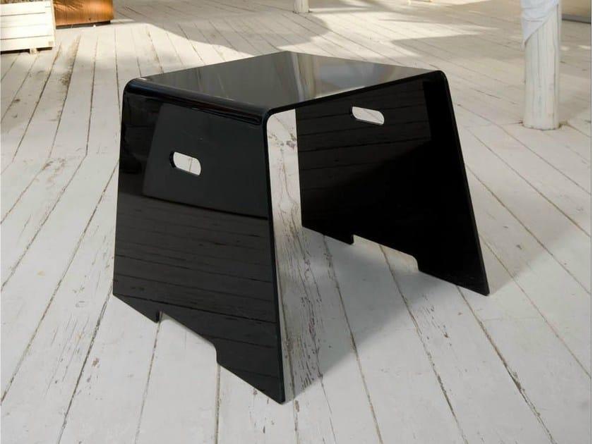 Low garden side table DIAMONDS | Garden side table - Trona