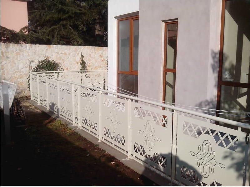 Iron balustrade PAN.38 | Balustrade - CITYSì recinzioni e cancelli taglio laser