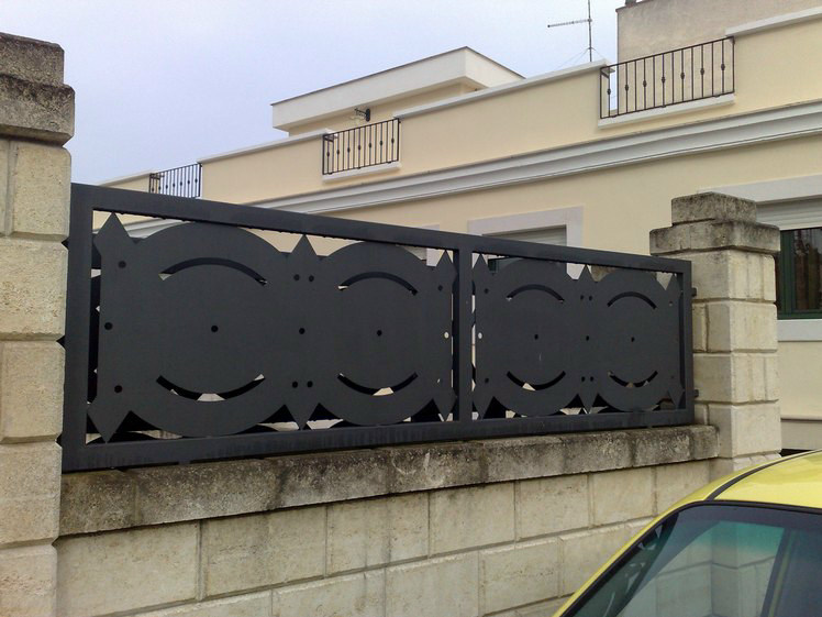 Modular iron Fence A2 | Modular Fence - CITYSì recinzioni e cancelli taglio laser