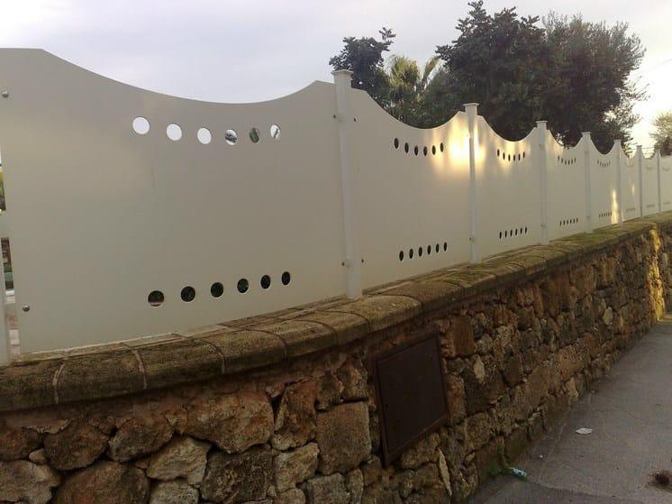 Security modular Fence PAN.35 | Modular Fence - CITYSì recinzioni e cancelli taglio laser