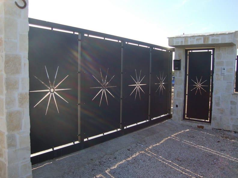 Sliding plate gate PAN.16 | Sliding gate by CITYSì recinzioni
