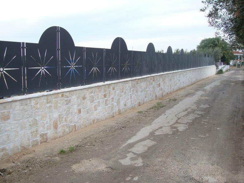 Security modular Fence PAN.15 | Modular Fence - CITYSì recinzioni e cancelli taglio laser