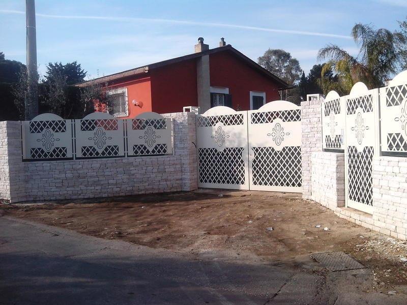 Security modular Fence PAN.38 | Modular Fence - CITYSì recinzioni e cancelli taglio laser