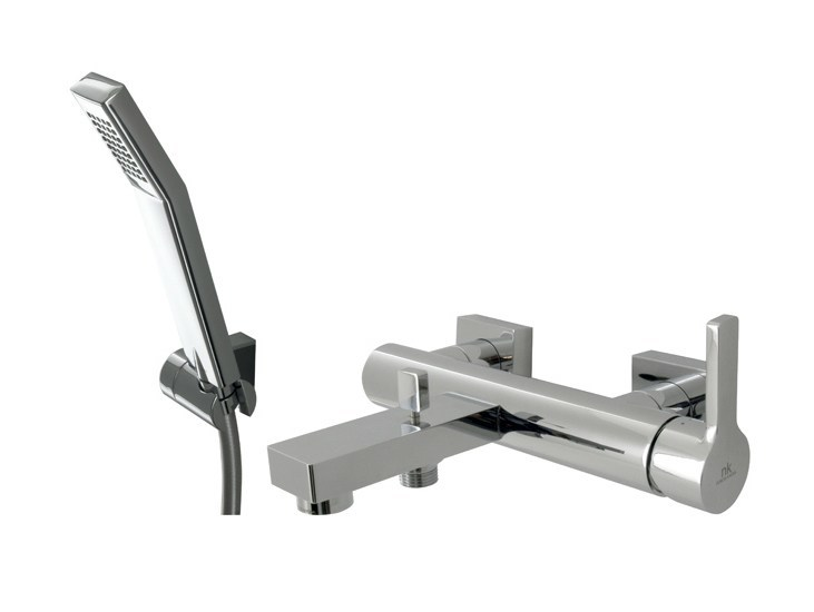 2 hole bathtub mixer with hand shower URBAN | Bathtub mixer with hand shower by Noken