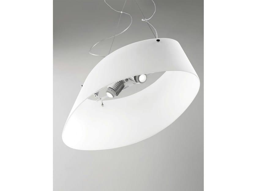 Blown glass pendant lamp ALIKI SP - Vetreria Vistosi