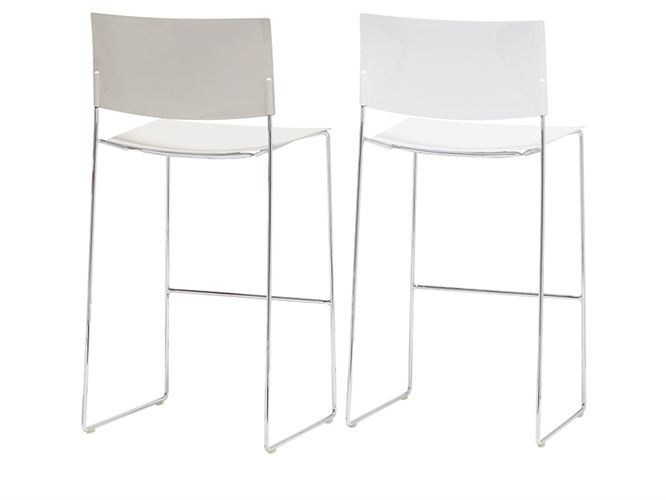 Sled base stackable chair SIT | Chair by Andreu World