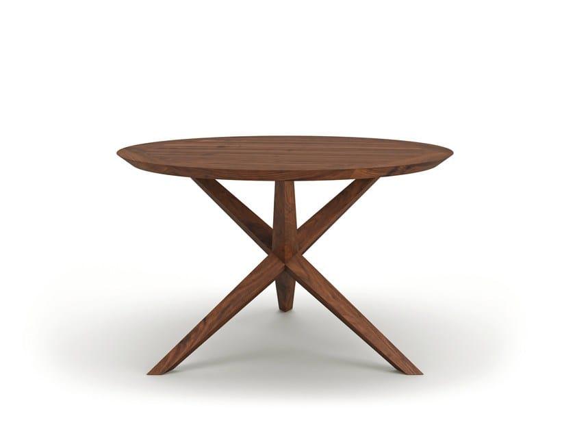 Round wooden dining table VERA - Belfakto