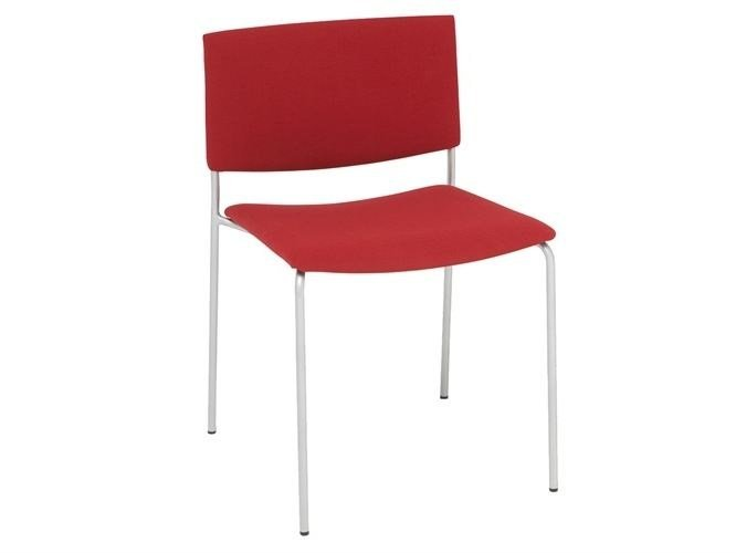 Upholstered stackable chair SIT SOFT | Chair - Andreu World
