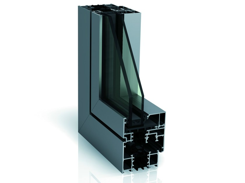High insulation multi-chamber system WICLINE 65 evo - High Insulation by WICONA