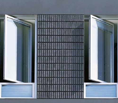 Finestra a bilico wicline evo finestra a bilico wicona for Finestre a bilico verticale
