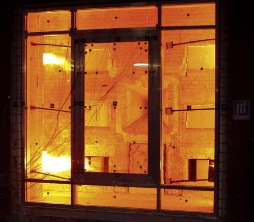Finestra resistente al fuoco wicline 75fp wicona for Finestre velux fisse