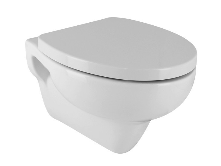 Wall-hung toilet with bidet URBAN | Toilet with bidet - NOKEN DESIGN