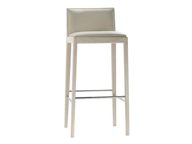 High upholstered stool CARLOTTA | Stool - Andreu World
