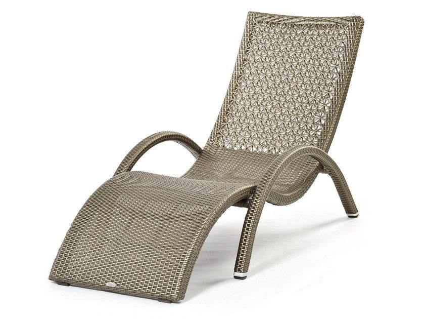 Synthetic fibre sunlounger ALTEA | Garden daybed - Varaschin
