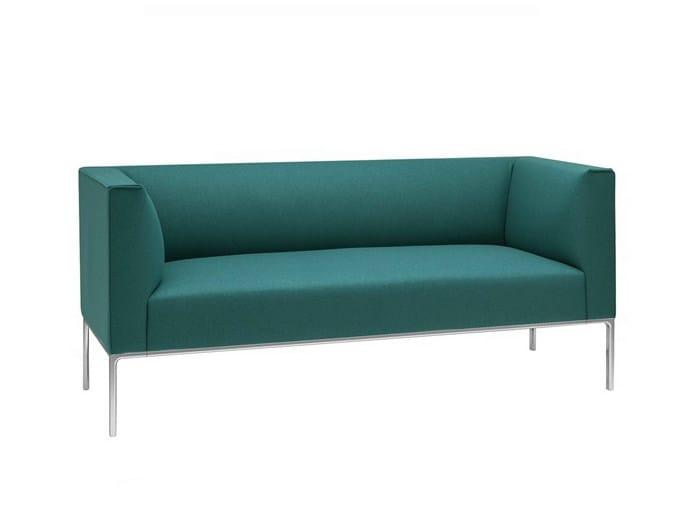 2 seater fabric sofa RAGLAN | 2 seater sofa by Andreu World