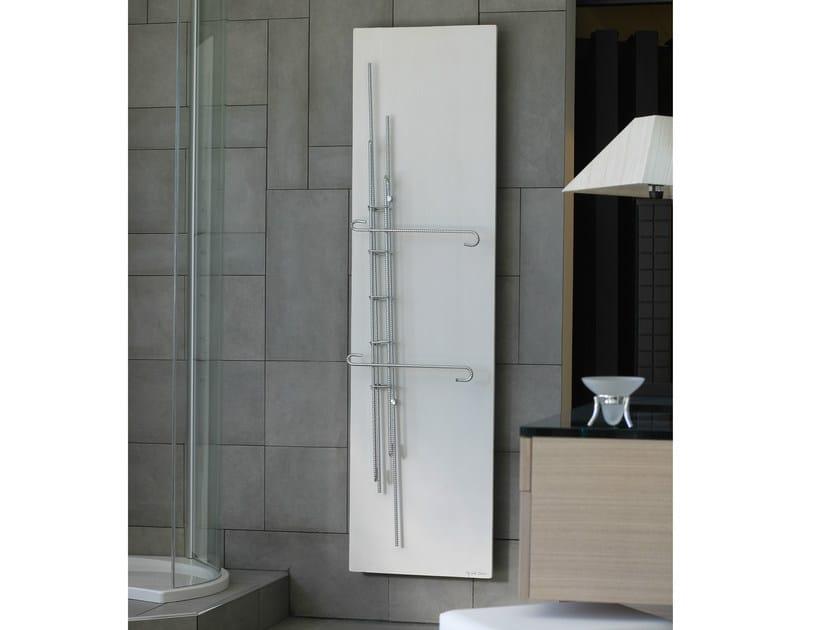 Vertical Olycale® towel warmer FONDATION - CINIER Radiateurs Contemporains