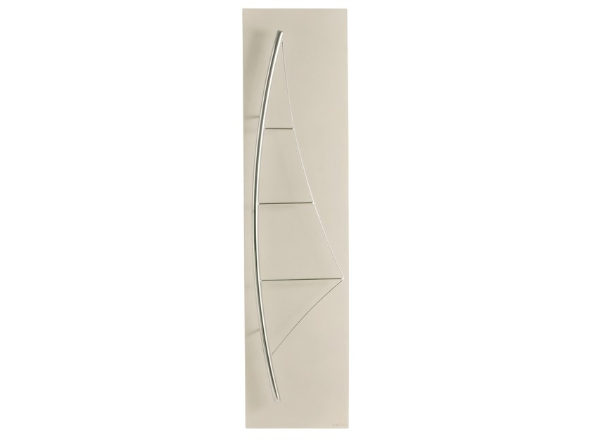 Vertical Olycale® towel warmer VOILE - CINIER Radiateurs Contemporains