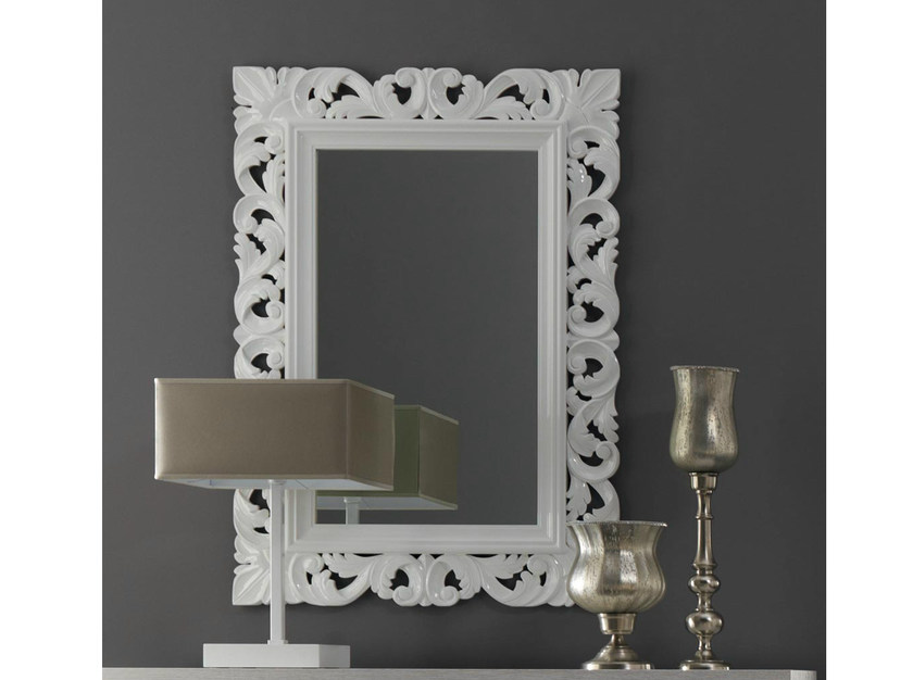 Rectangular wall-mounted mirror GASTON | Mirror - CorteZari