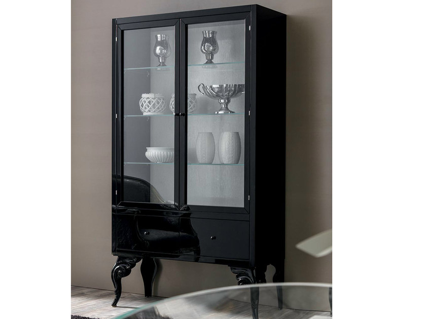 Lacquered display cabinet KEOPE | Display cabinet - CorteZari