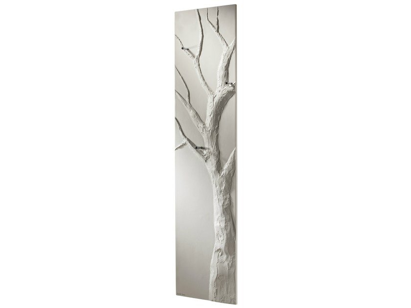 Vertical Olycale® towel warmer ARBRE BLANC - CINIER Radiateurs Contemporains