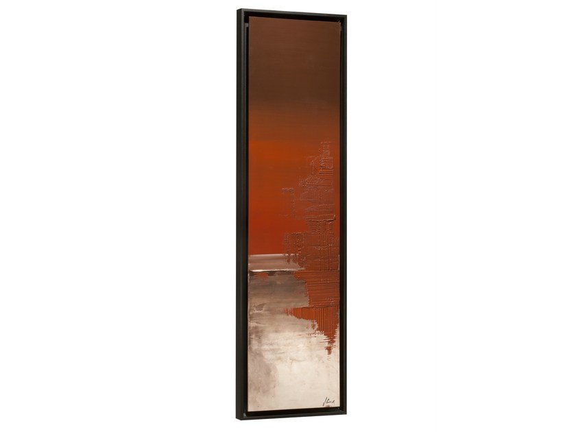 Vertical wall-mounted Olycale® panel radiator GREENOR DOCKGRANIT - CINIER Radiateurs Contemporains