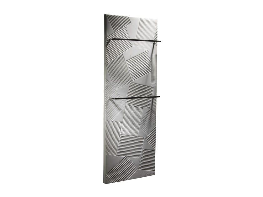 Vertical Olycale® towel warmer JEU D'OMBRES BAIN - CINIER Radiateurs Contemporains