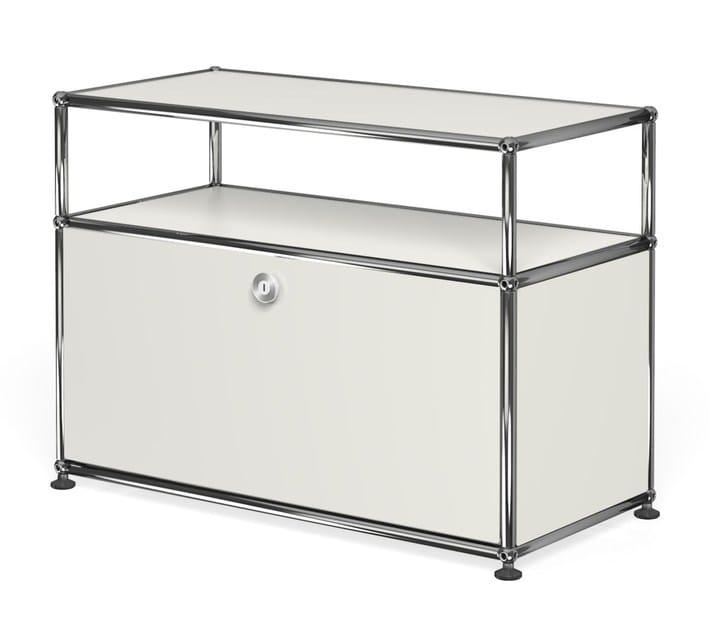 Metal TV cabinet USM HALLER MEDIA CABINET | TV cabinet - USM Modular Furniture