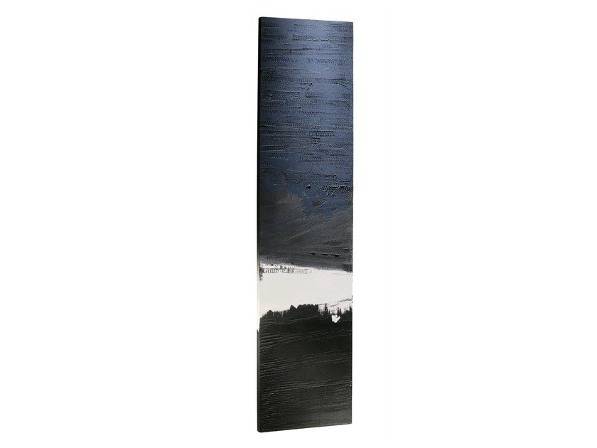 Wall-mounted Olycale® panel radiator BLUE CARGO - CINIER Radiateurs Contemporains