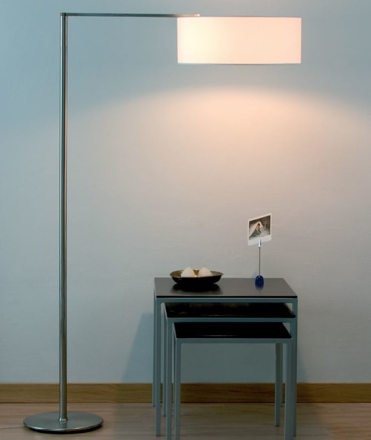 Fabric floor lamp MATRIX P - luxcambra