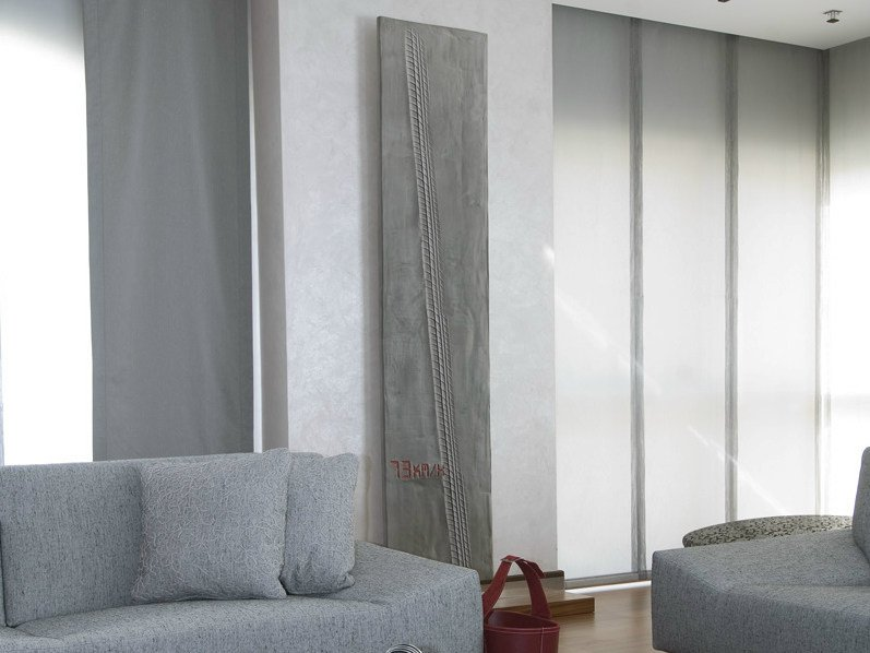 Wall-mounted Olycale® panel radiator 73KM/H - CINIER Radiateurs Contemporains