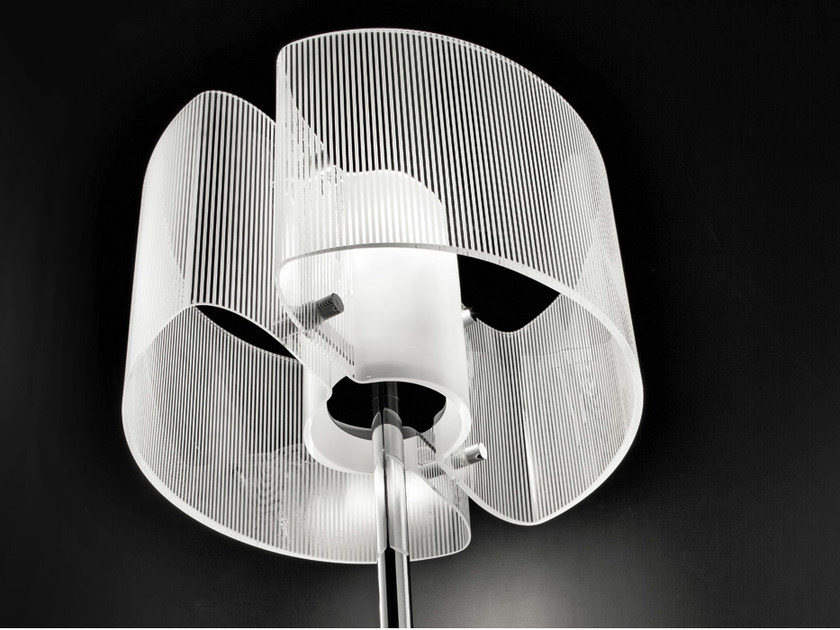 Crystal table lamp CHIMERA LT - Vetreria Vistosi