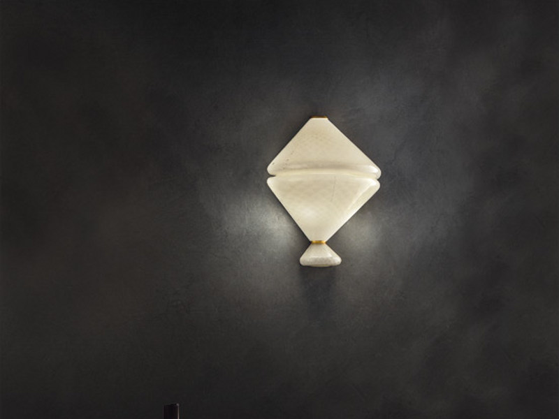 Glass wall light CIONDO AP by Vetreria Vistosi