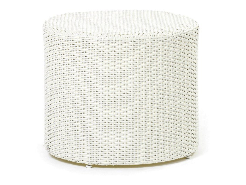 Coffee table with synthetic fiber weaving ARENA | Coffee table - Varaschin