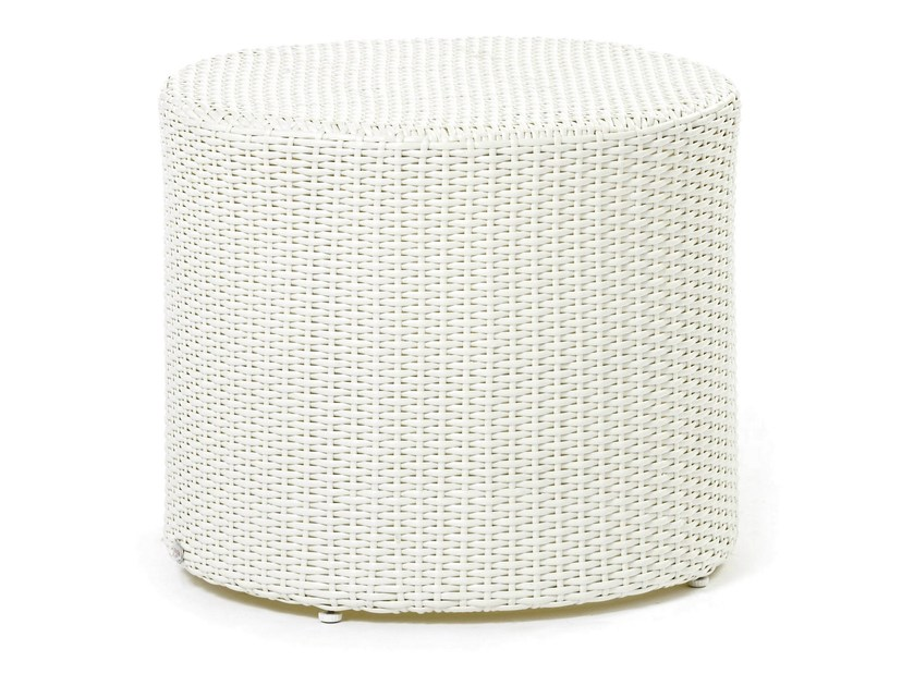 Coffee table with synthetic fiber weaving ARENA | Coffee table by Varaschin