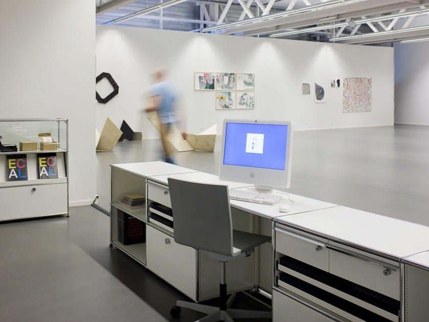 usm haller system for reception desks empfangstresen by usm. Black Bedroom Furniture Sets. Home Design Ideas