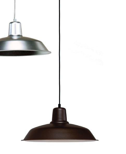 Aluminium pendant lamp SOHO PQ/ GR - luxcambra