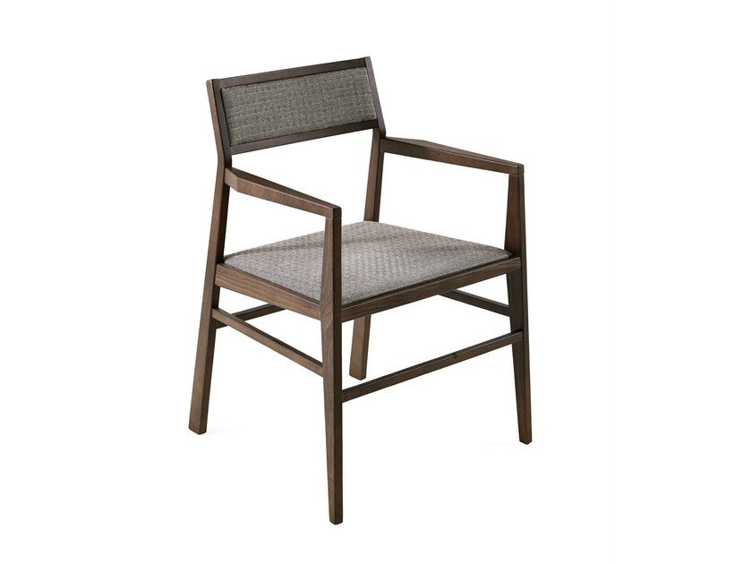 Ash chair with armrests ARUBA | Chair with armrests - Varaschin