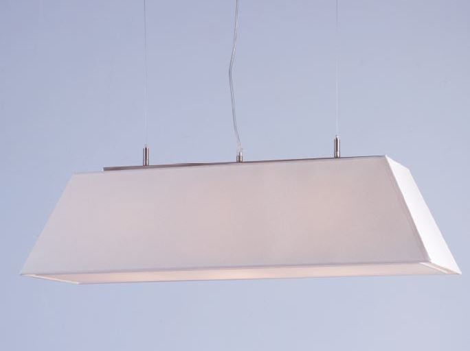 LED fabric pendant lamp PARIS - luxcambra
