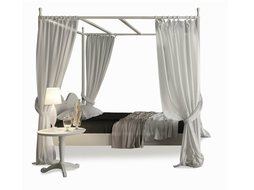 Full size canopy bed ANSOUIS | Full size bed - Minacciolo