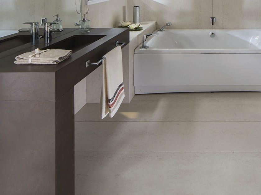 Dekton® washbasin countertop DEKTON® | Washbasin countertop by Cosentino