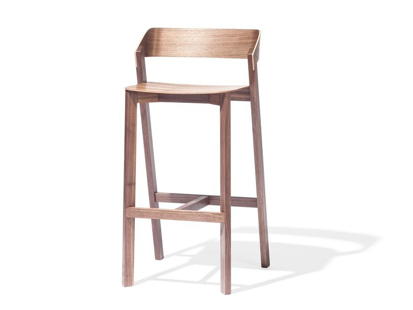 Solid wood counter stool MERANO | Counter stool - TON