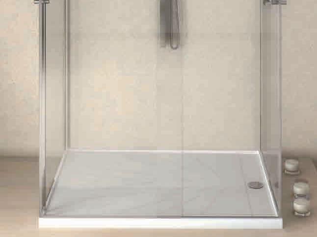 Plato de ducha rectangular de silestone freccia by for Platos de ducha de silestone fotos