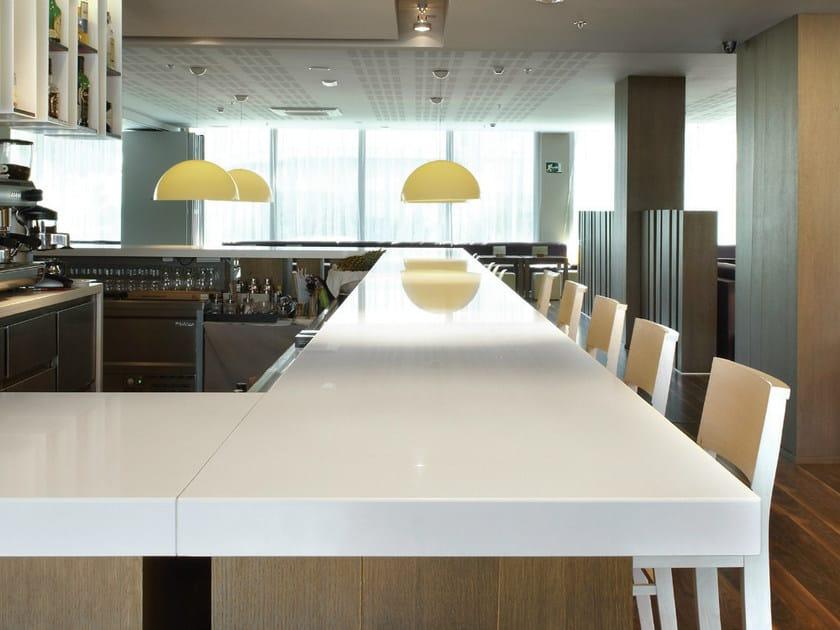 Silestone plateau pour table by cosentino - Mesa de silestone ...