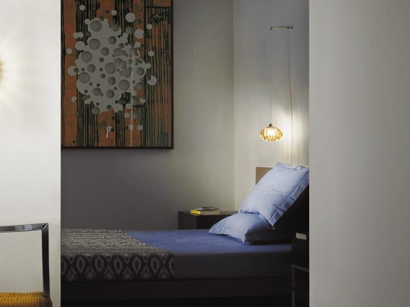 Glass wall lamp DIAMANTE AP KIT by Vetreria Vistosi
