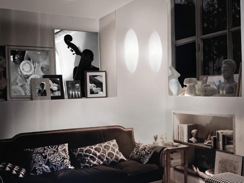 Blown glass wall light DODO AP - Vetreria Vistosi