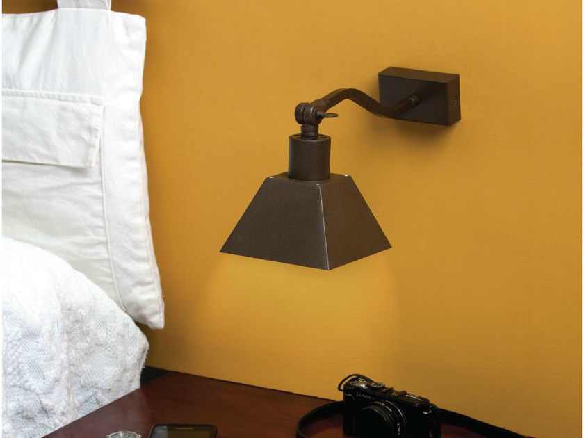 Metal wall lamp RUSTIC 27 - luxcambra