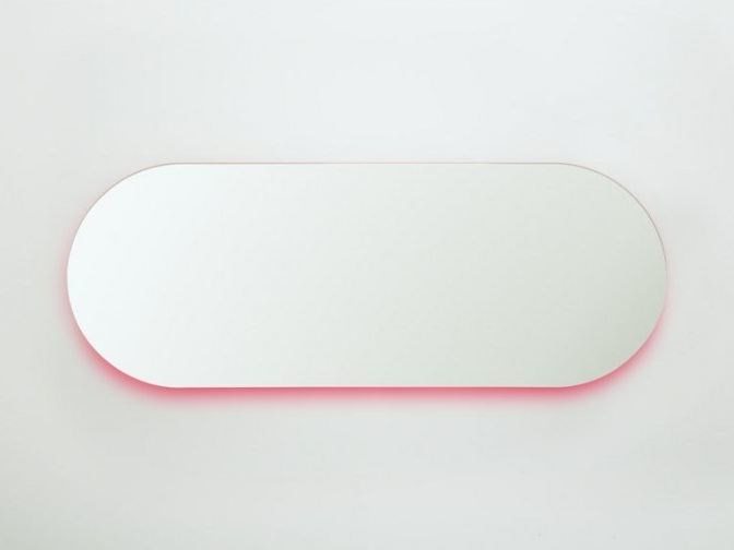 Oval wall-mounted mirror MOONLIGHT | Oval mirror - Covo